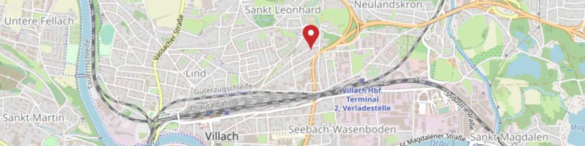 Ihr Osteopath in Villach und in Klagenfurt_Anfahrt_Villach